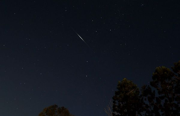Iridium Flare 2014 May 15, North Maclean, Queensland