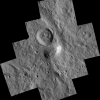 Ahuna Mons On Ceres Seen From Low Altitude Mapping Orbit