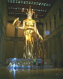 Atheana Statue at the Nashville Parthenon and Orbs?