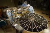 Phoenix Mars lander testing