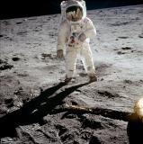 Apollo 11 - Buzz Aldrin on the moon
