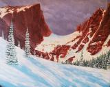 Hallet Peak (a study)