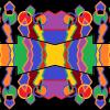 Sacred geometric rainbow B