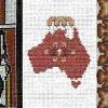 Cross stitch Row
