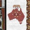 Cross-stitch Row