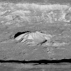 Oblique view Of Tycho crater
