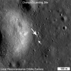 Chang'e 3 Lander and Rover From Above