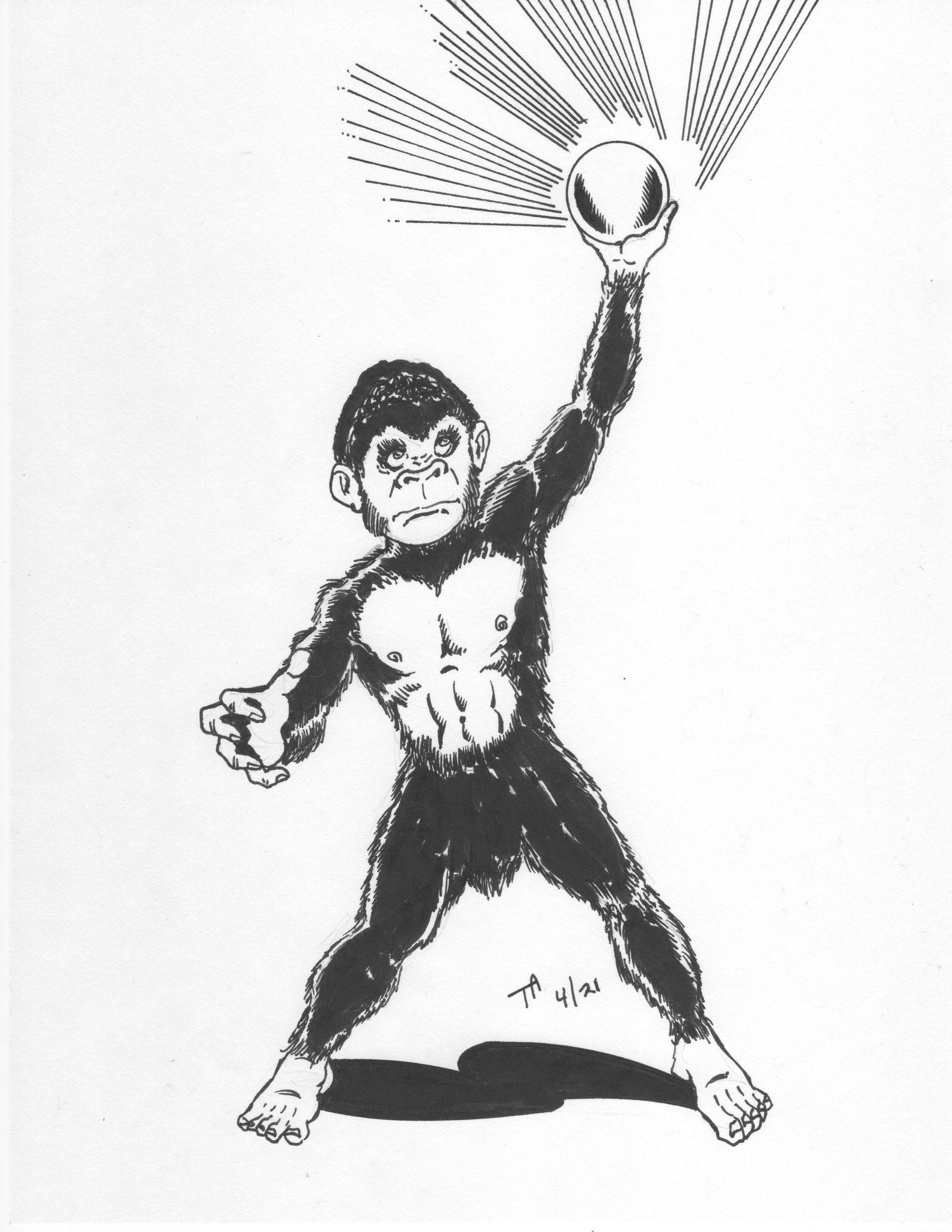 Bukit Timah Monkey Man of Singapore