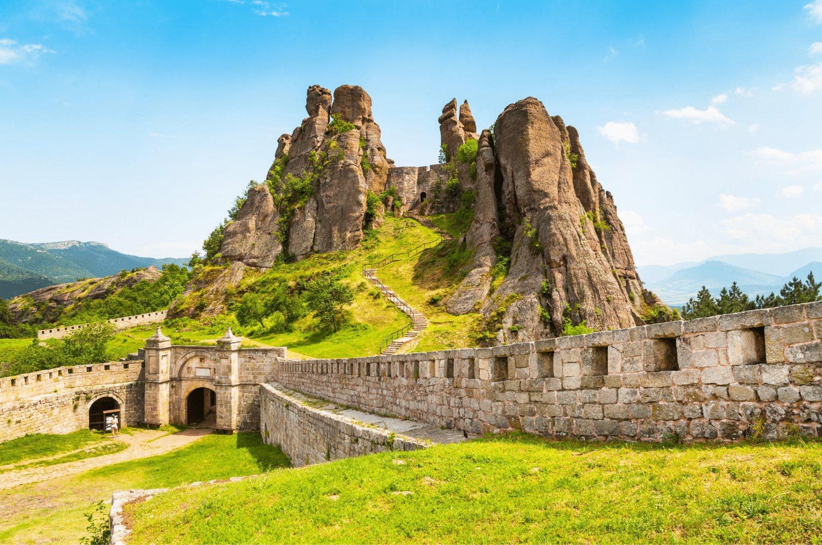 Haunted Belogradchik Fortress in Bulgaria