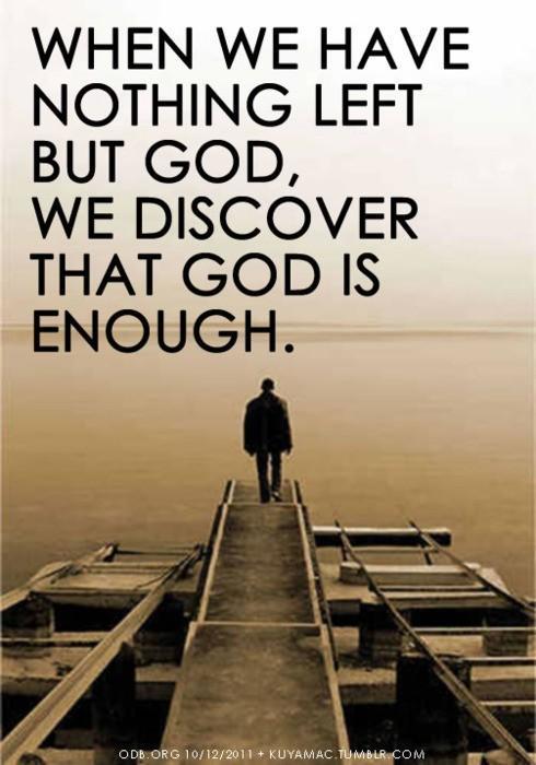 Praying when anxious