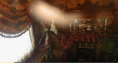 Molly Brown House streak of light. Colorado