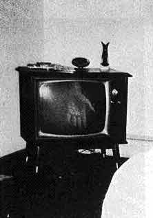 Ghost Hand in TV Set