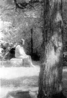 Girl on a Gravestone