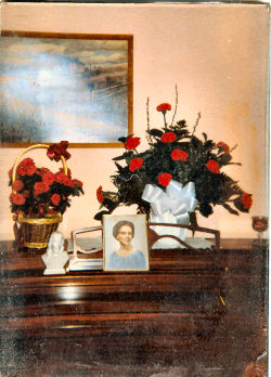 Photo Taken After Mother's Death in 1989