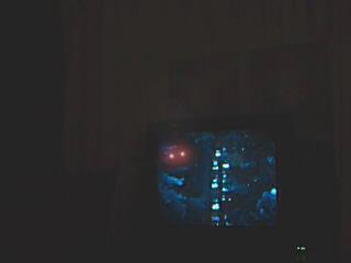 Orb Near TV