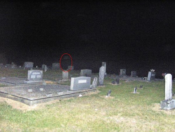 Possible ghost in background