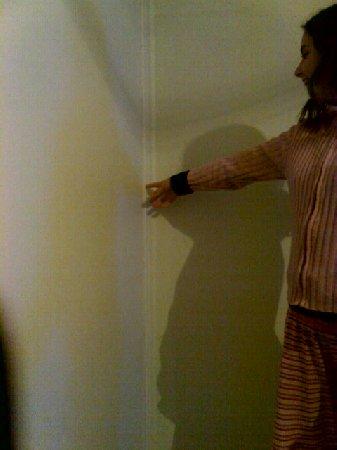 Yellowshadows on my bedroom wall