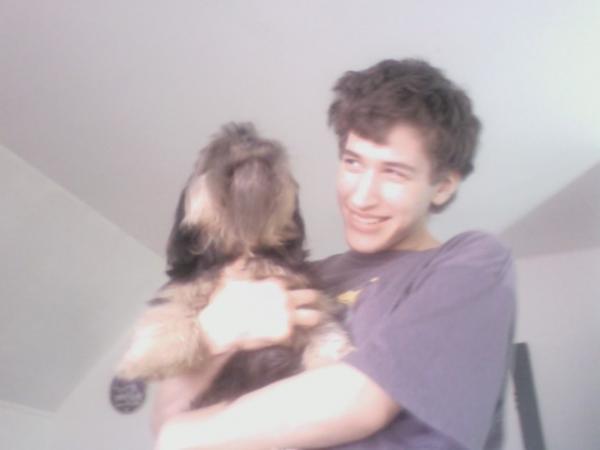 Me and my buddy Iggy lol