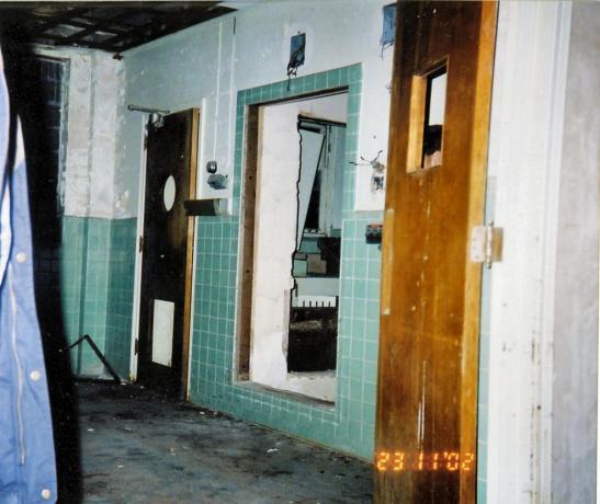Abandoned Hospital - Doors, Holes, Etc.