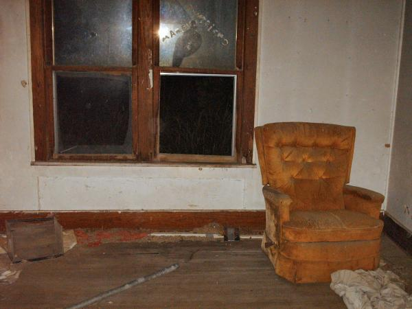 Abanoned House - Living Room