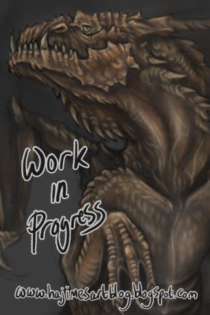 Digital Dragon Painting