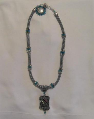 In the Belly Abalone Necklace