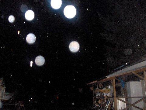 Orbs outside