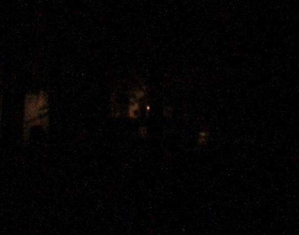 Odd things in a night shot at a cemetary...comments please?