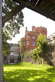 "Ruthin Castle, Haunted by the ""GREY (GRAY)LADY"""