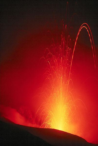 Erupting Volcano (3)