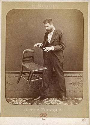 Édouard Isidore Buguet telekinesis