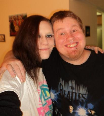 Me and my loving hubby jan 2011