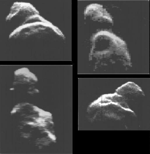 Asteroid Toutatis