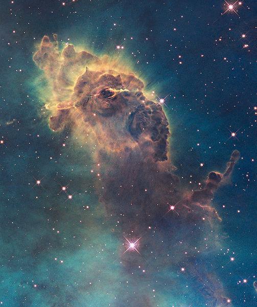 Hubble - Carina Nebula (2)