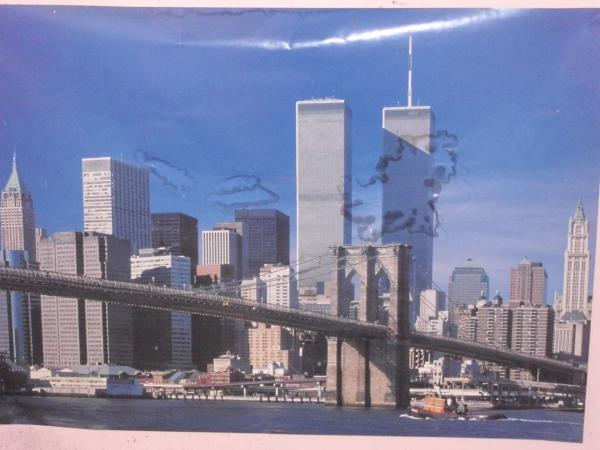 Twin towers poster forms