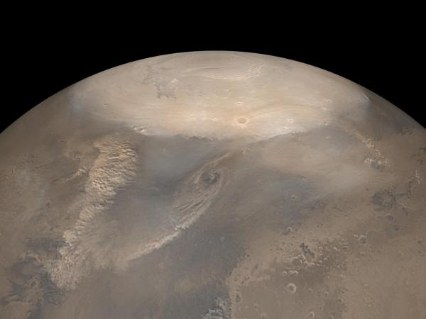 Mars' Spring Storms