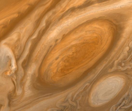 Jupiter's Great Red Spot Region