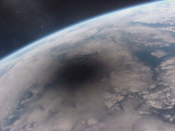 Eclipsed Earth
