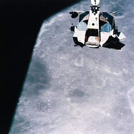 Ascent from the Moon