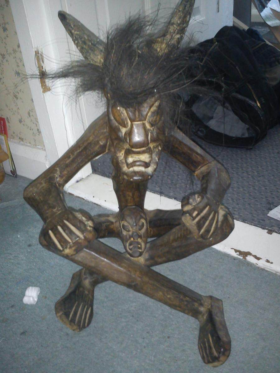 Old strange African fetish - Unexplained Mysteries Image ...
