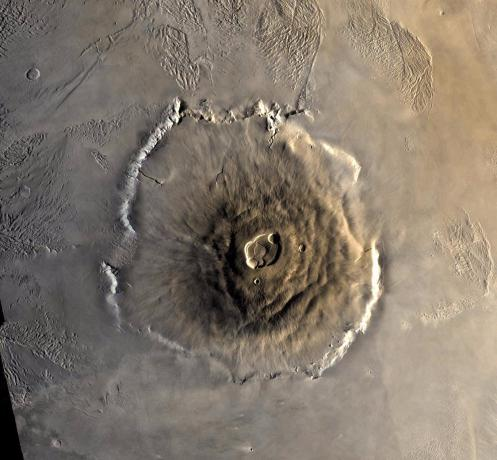 Color Mosaic of Olympus Mons