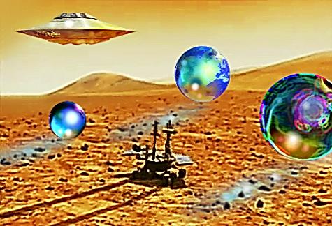 Encounter on Mars...