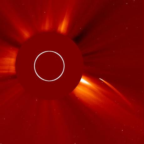 Sun Grazing Comet