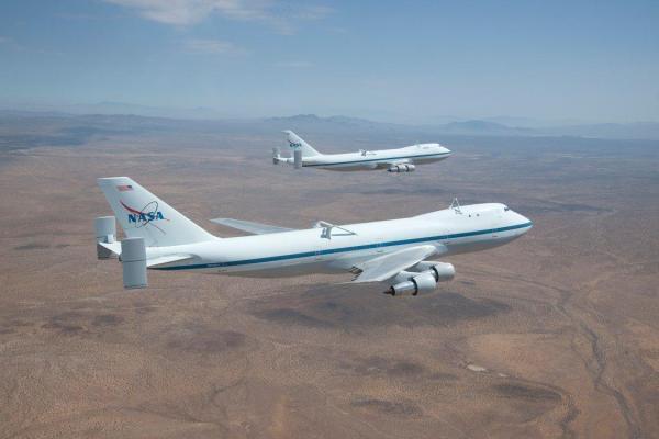 NASA's Shuttle Carrier Aircraft