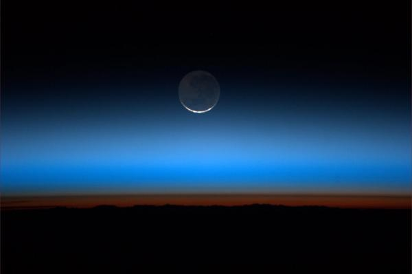 This Is What the Moon Looks Like From Space