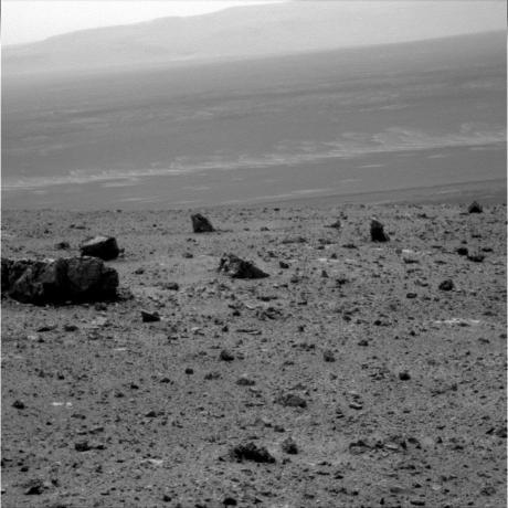 Mars Exploration Rover Opportunity - View Across Endeavour Crater