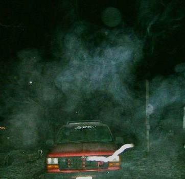 Car Vortex Spirit Above