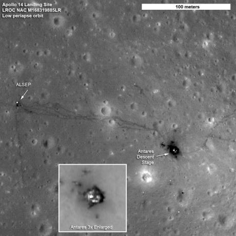LRO: Latest Images of Apollo Landing Sites - Apollo 14