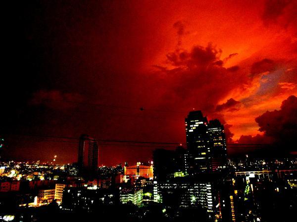 Sunset after Storm in Bangkok