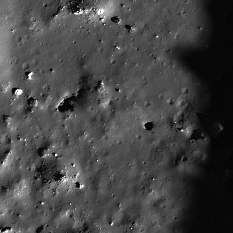 Lunar Reconnaissance Orbiter - Impact Melt Pit